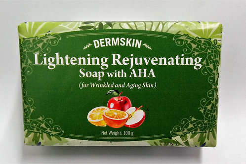 Lightening Rejuvenating Soap with AHA (for Wrinkled and Aging Skin)