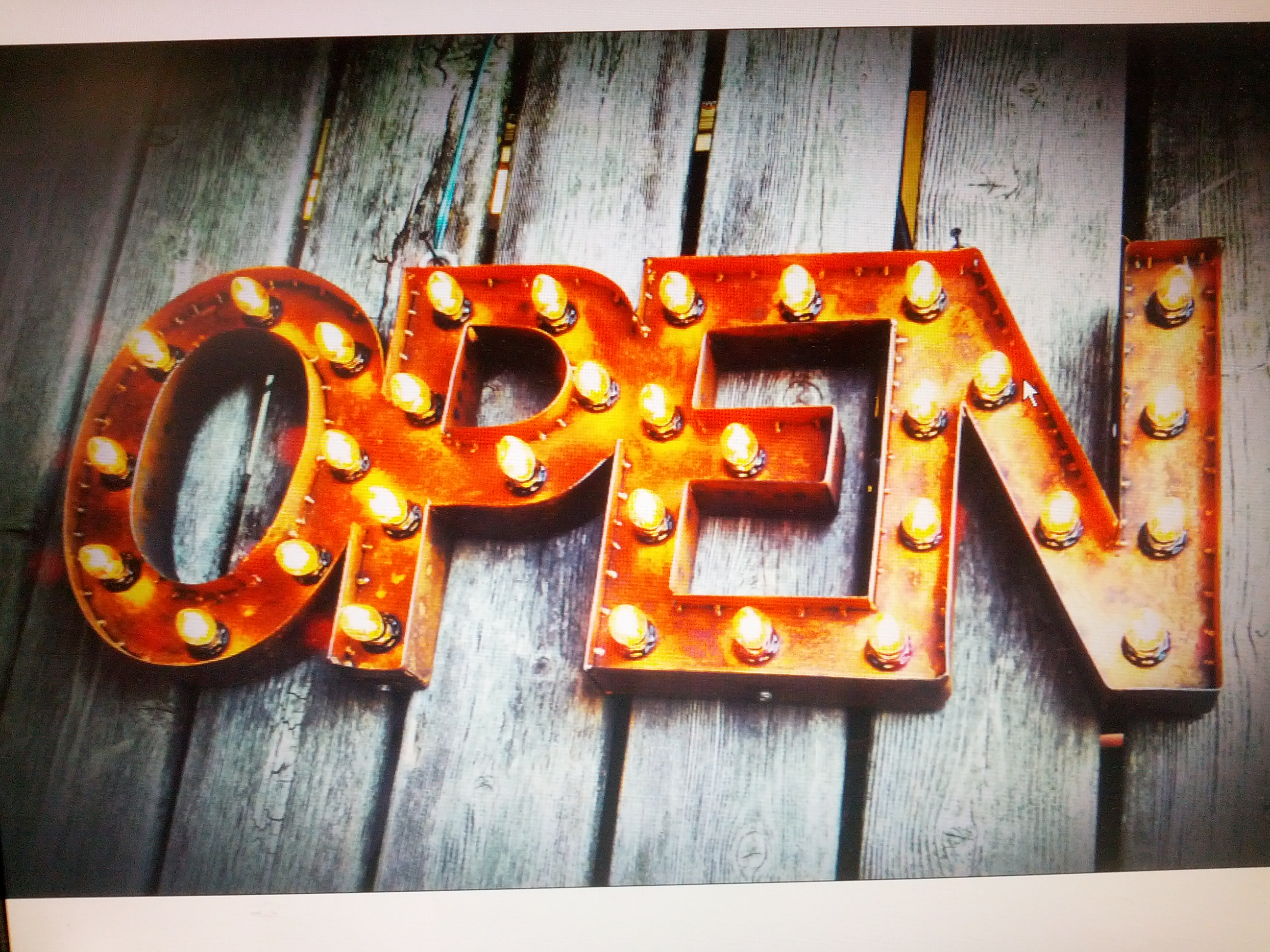 Open Sign, Neon Sign, Custom Sign