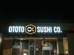 Neon Sign, Electric Sign, Sushi Sign