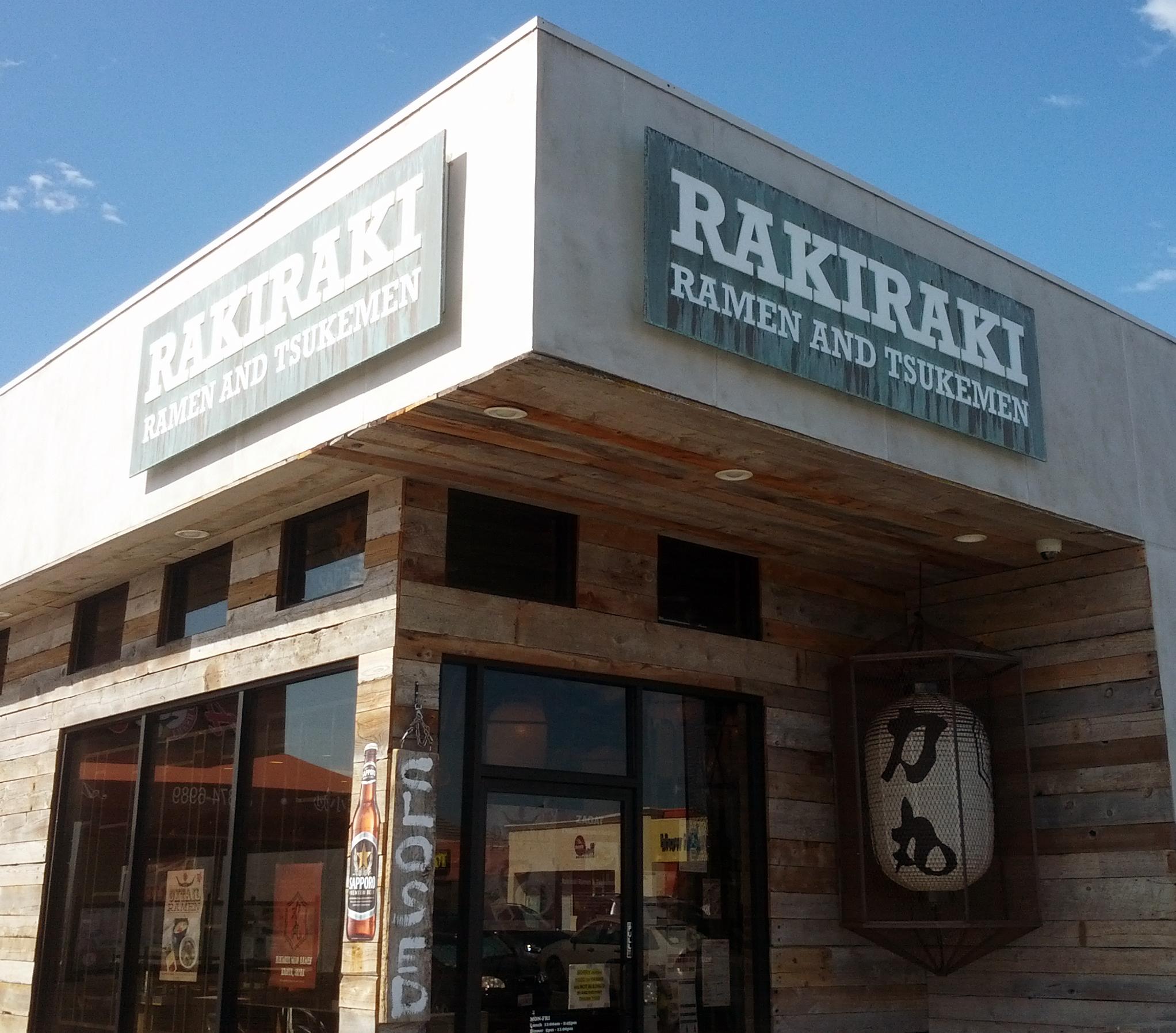 Restaurant Sign, Rakiraki, San Diego