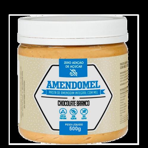 Pasta de amendoim Amendomel Chocolate Branco 500g - Thiani