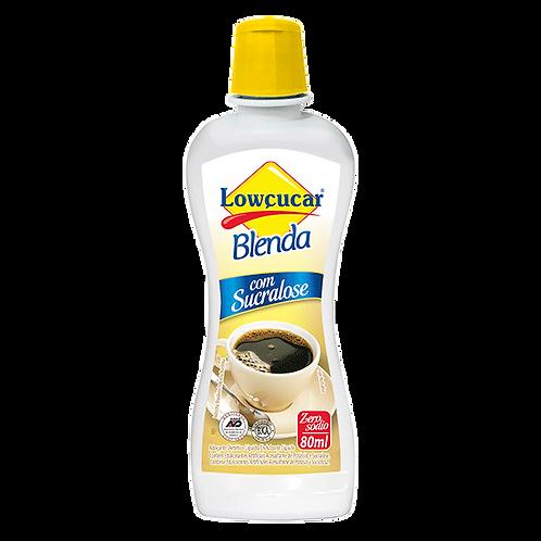 Adoçante Lowçucar Blenda com sucralose 80ml - Lowçucar