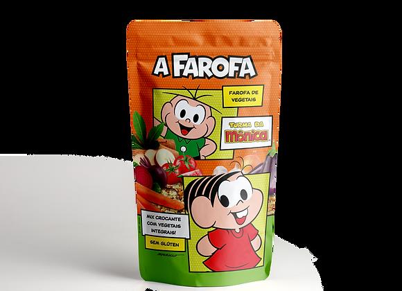 A Farofa Turma da Mônica - Farofa de Vegetais  200g – Agarys