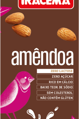 Bebida vegetal de Amêndoas 1 L - Iracema