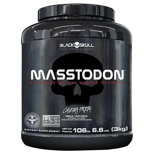 Masstodon 3kg Caveira Preta Black Skull