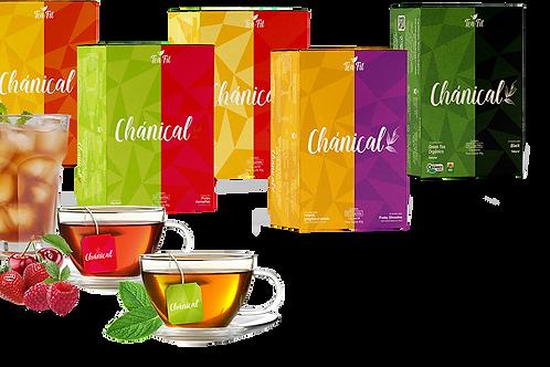 Chánical 60 sachês Tea Fit