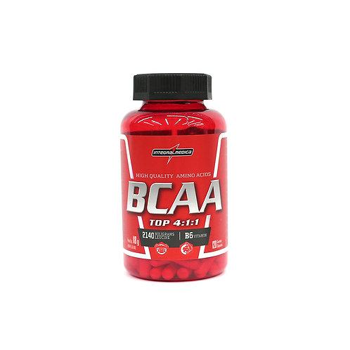 BCAA Top 4:1:1 em cápsulas 120 caps - Integralmedica