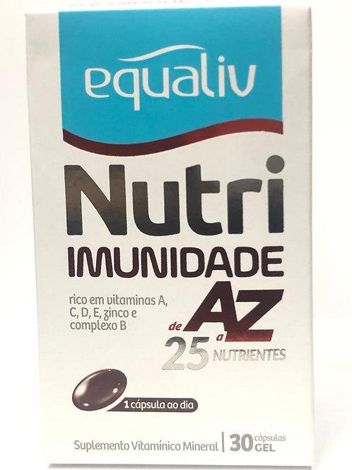 Nutri Imunidade AZ 30 cápsulas -Equaliv