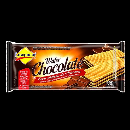 Biscoito Wafer recheado Zero Adição de Açúcares 115g - Lowçucar