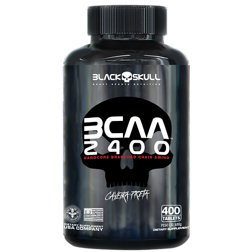 BCAA 2400 400 tabs – Black Sckull