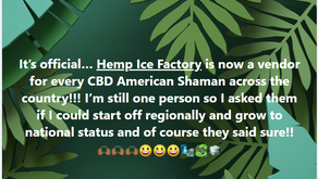 It's Official...Student from Houston Academy of Cannabis Science has a product that goes national!