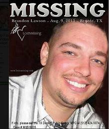 disparition brandon lawson 911