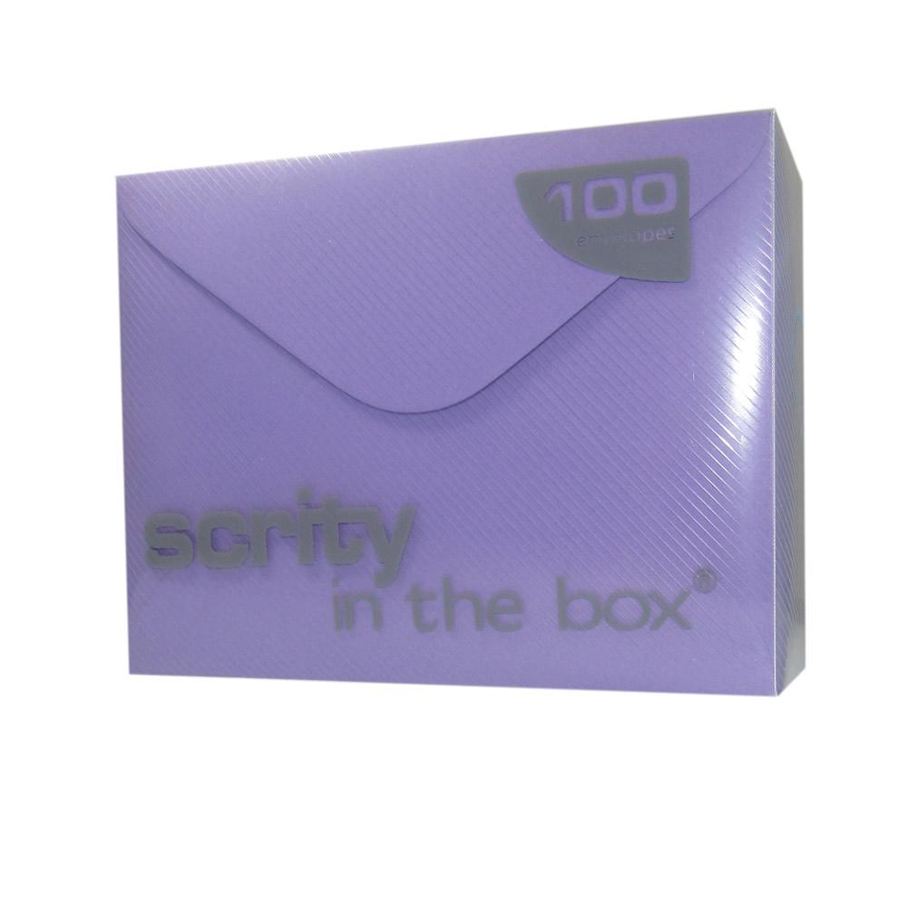 Envelope lilás