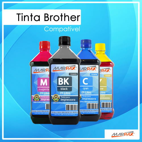 Tinta Brother Compatível Marpax