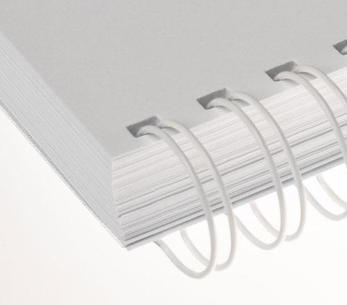 Wire-o para encadernação Branco