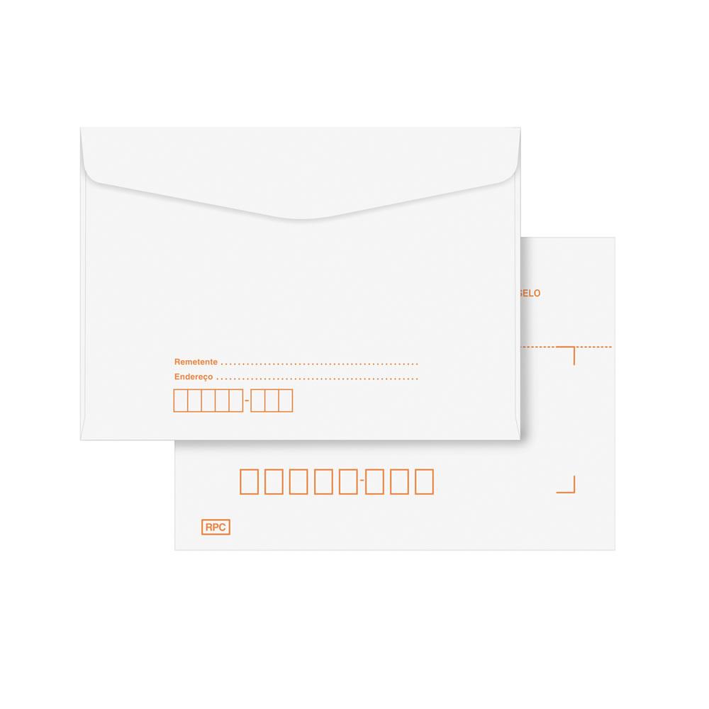 envelope carta com RPC
