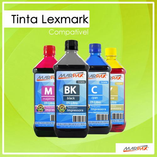 Tinta Lexmark Compatível Marpax
