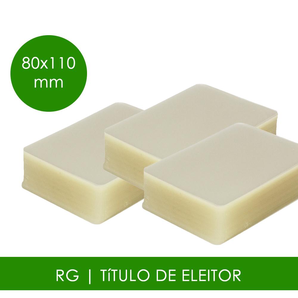 Plástico para Plastificação RG