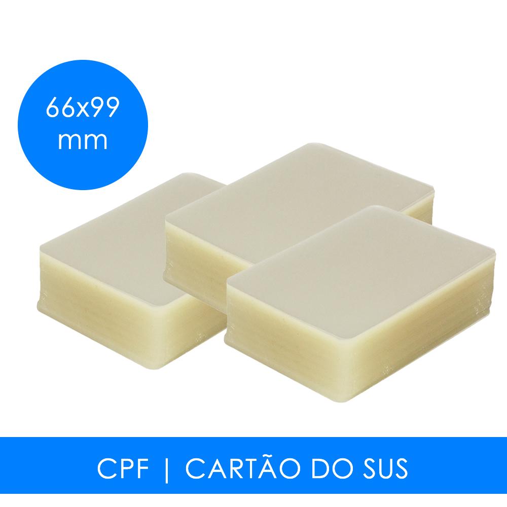 Plástico para Plastificação CPF
