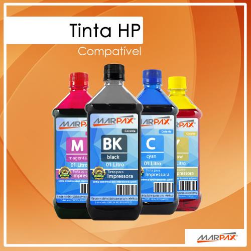 Tinta HP Compatível Marpax