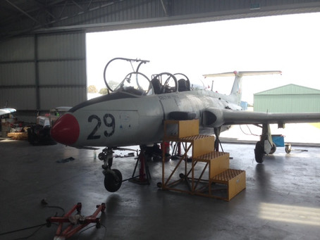 L-29 Delfin Jet Restoration