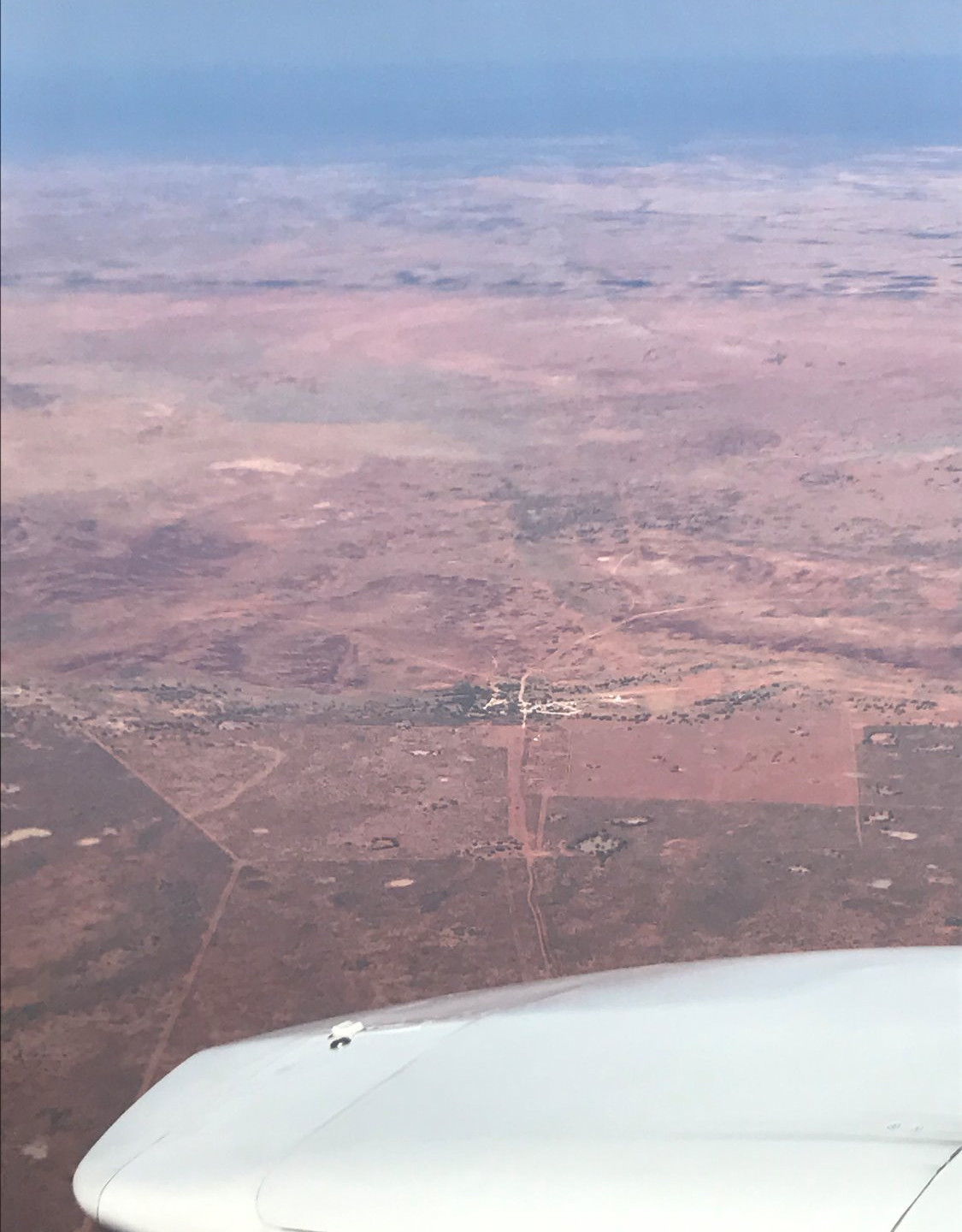 Tibooburra from the air