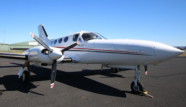 Cessna 414 Private Aircraft Charter Bathurst NSW Panorama Airways Panair Australia