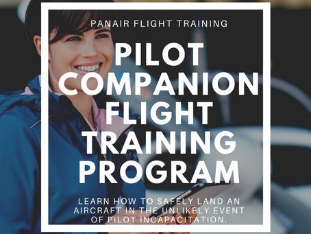 PanAir Launches Pilot Companion Flight Training Program