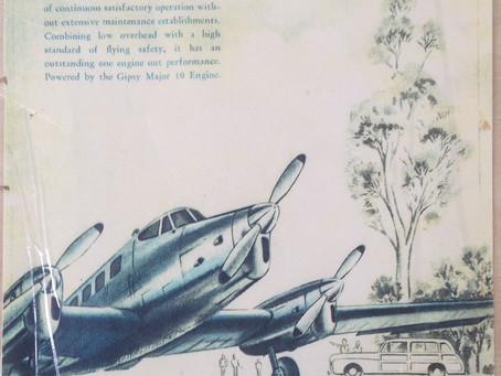 PanAir's Vintage De Havilland Drover DAH3-Mk-2