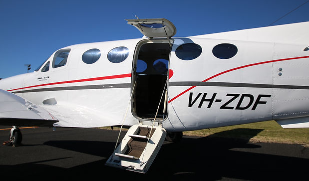 Cessna 414 Private Aircraft Charter Bathurst NSW Panorama Airways Panair Business Australia