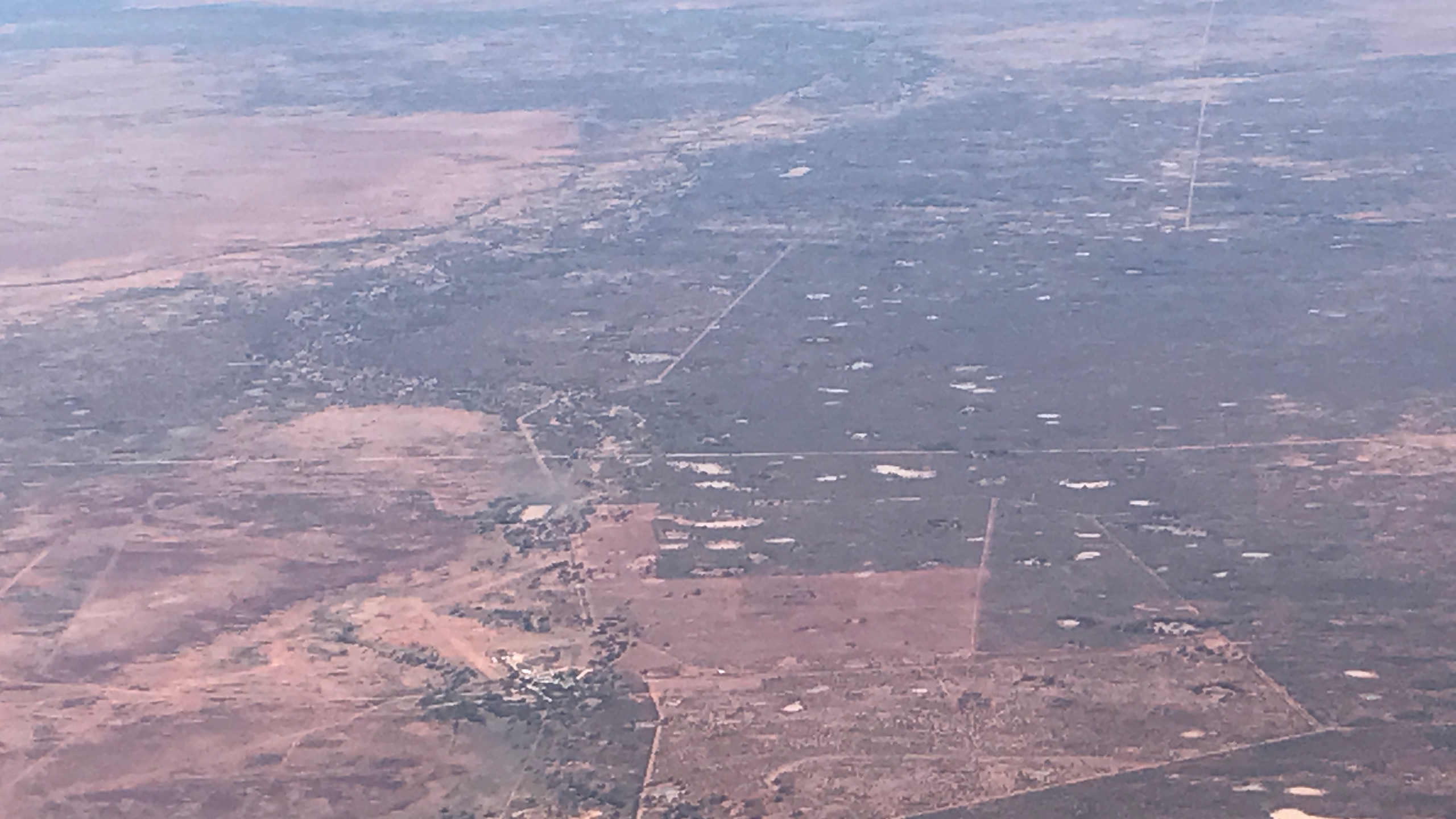 Outback from the air