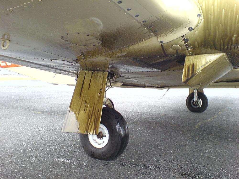 Major Engine oil leak