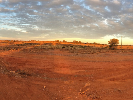 Flying the remote Outback in Tibooburra NSW