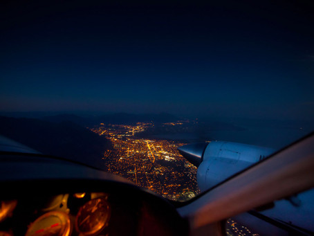 Refresh your Night Flying Skills with our Free ONLINE NVFR theory training.