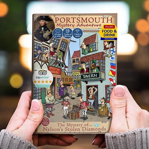 Portsmouth Mystery Adventure: The Mystery of Nelson's Stolen Diamonds