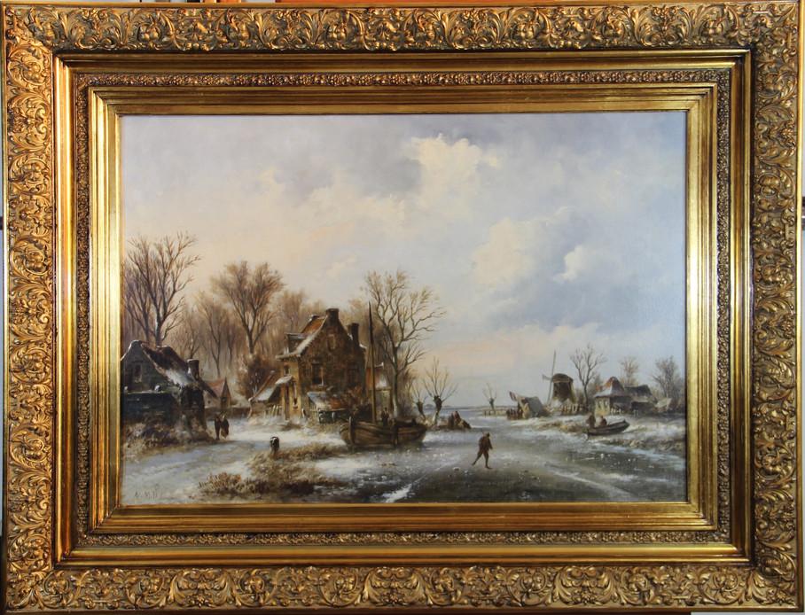 Paisagem de Inverno sec XIX