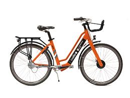 Photo du vélo électrique classique