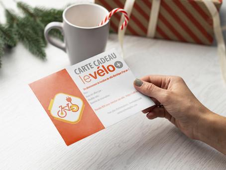 Carte cadeau levélo+ : le cadeau idéal sous le sapin