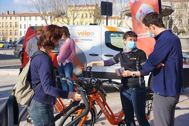 2021-02-03 - le vélo+ stand rotonde aix