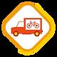 Pictogramme boutique mobile camion du se