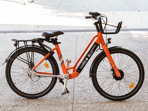 Ouverture du service de location longue durée de vélos électriques levélo+
