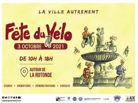 Aix-en-Provence, Fête du Vélo : Reporté au dimanche 17 octobre