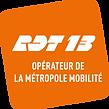Logo RDT13 opérateur de la Métropole Mob