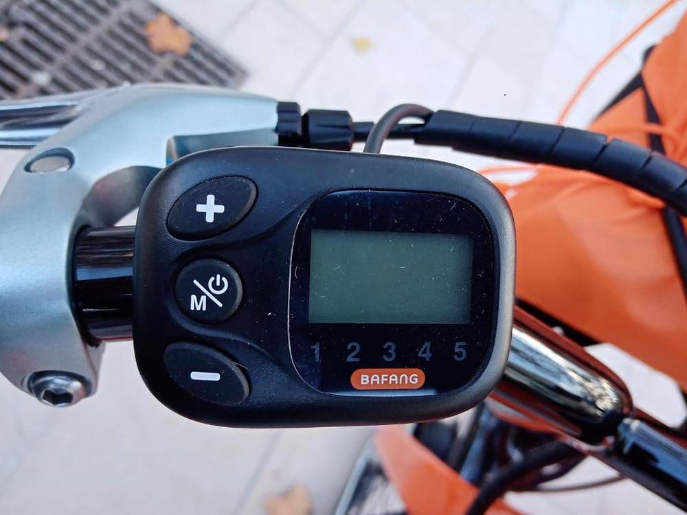 Display, écran, vélo, électrique, levélo+, Bafang
