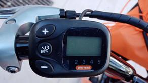 Mode d'emploi du display du vélo classique