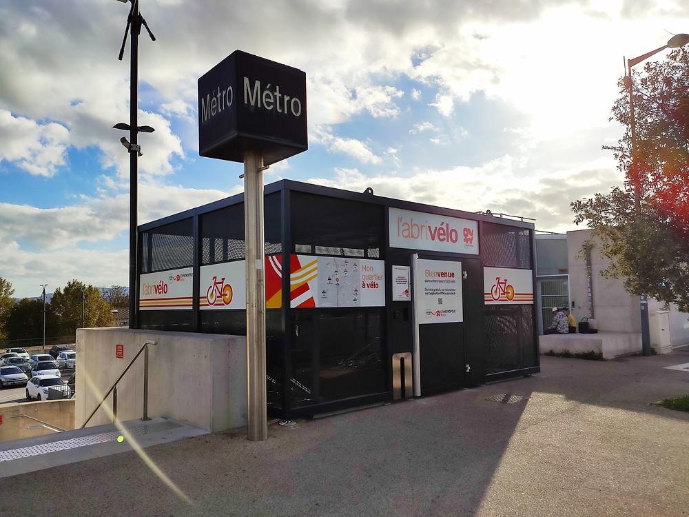 Local sécurisé de stockage de vélos à Marseille