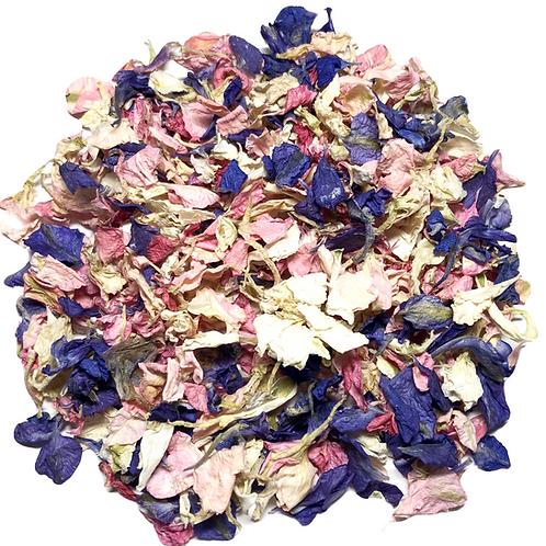Unicorn Delphinium Petal Confetti