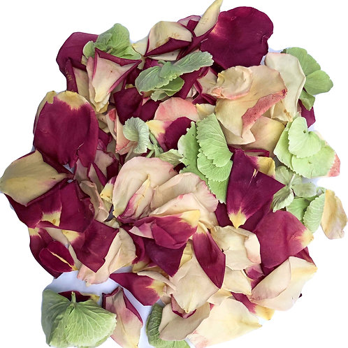 Magenta Mix, a mixture of rosepetals and hydrangea petals