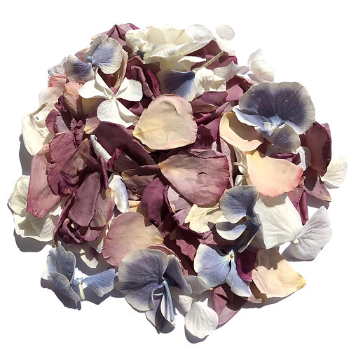 Heather Mix, a mixture of rose and hydrangea petals