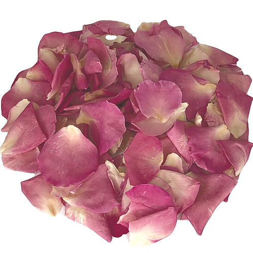 Raspberry Lemonade freeze-dried rose petals
